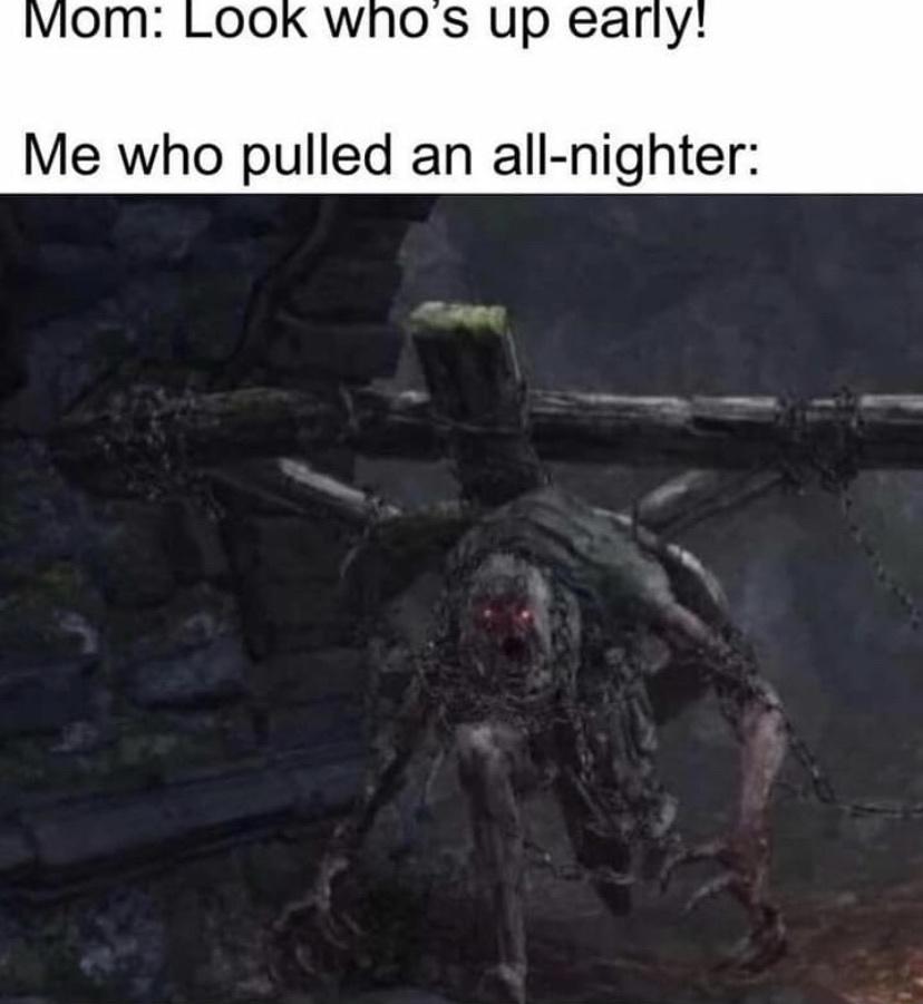 crucifixion woods - meme