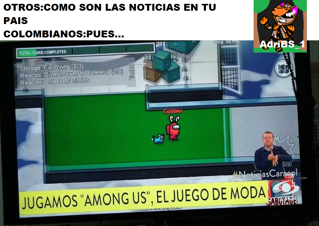 COLOMBIA Y SUS NOTICIAS EXTRAÑAS - meme