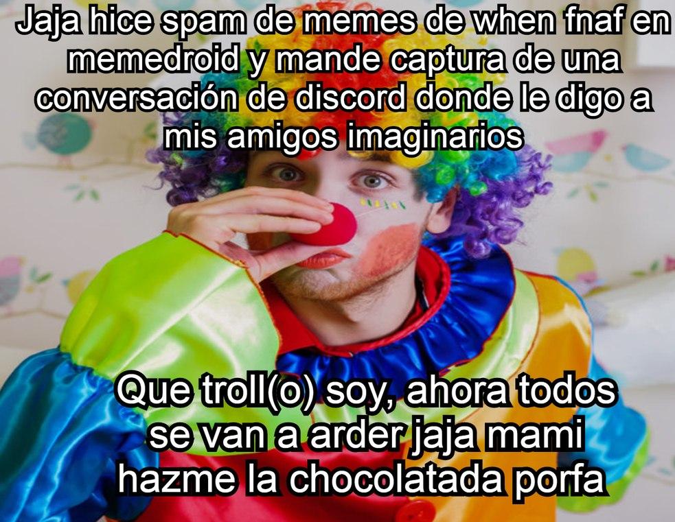 GUEN HACES TU SPAM EN MODERACIÓN - meme