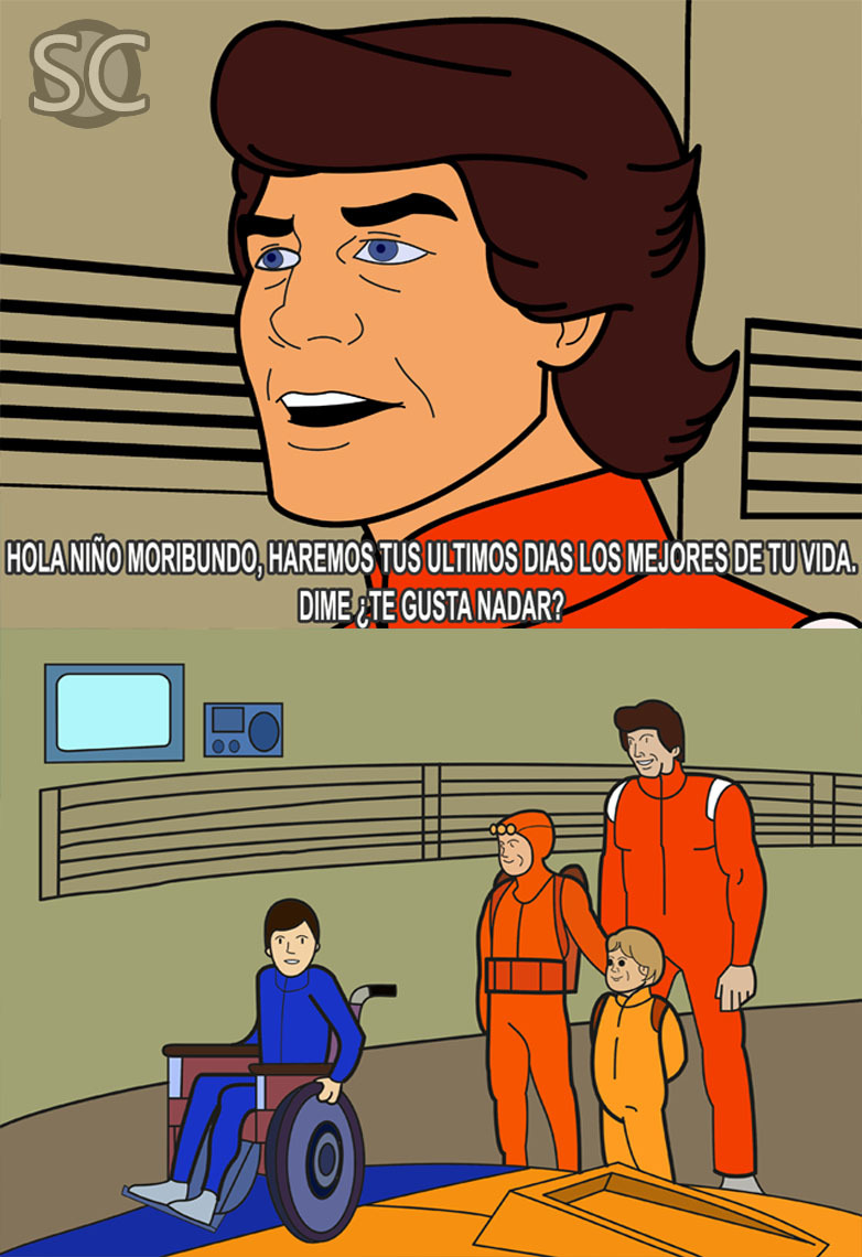 Sealab, Underneath the water Sealab, At the bottom of the sea - meme