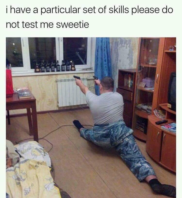 Dem skills - meme