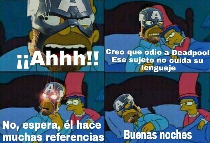 Deadreferenciaspool - meme