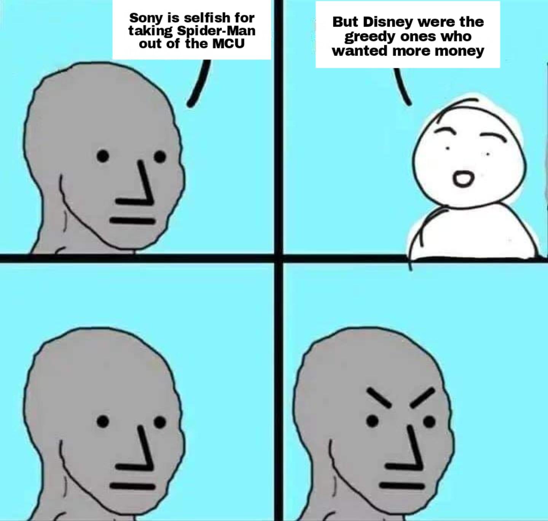 Marvel fans RN (including me unfortunately) - meme