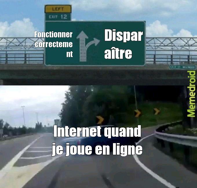 Quand je joue en ligne - meme