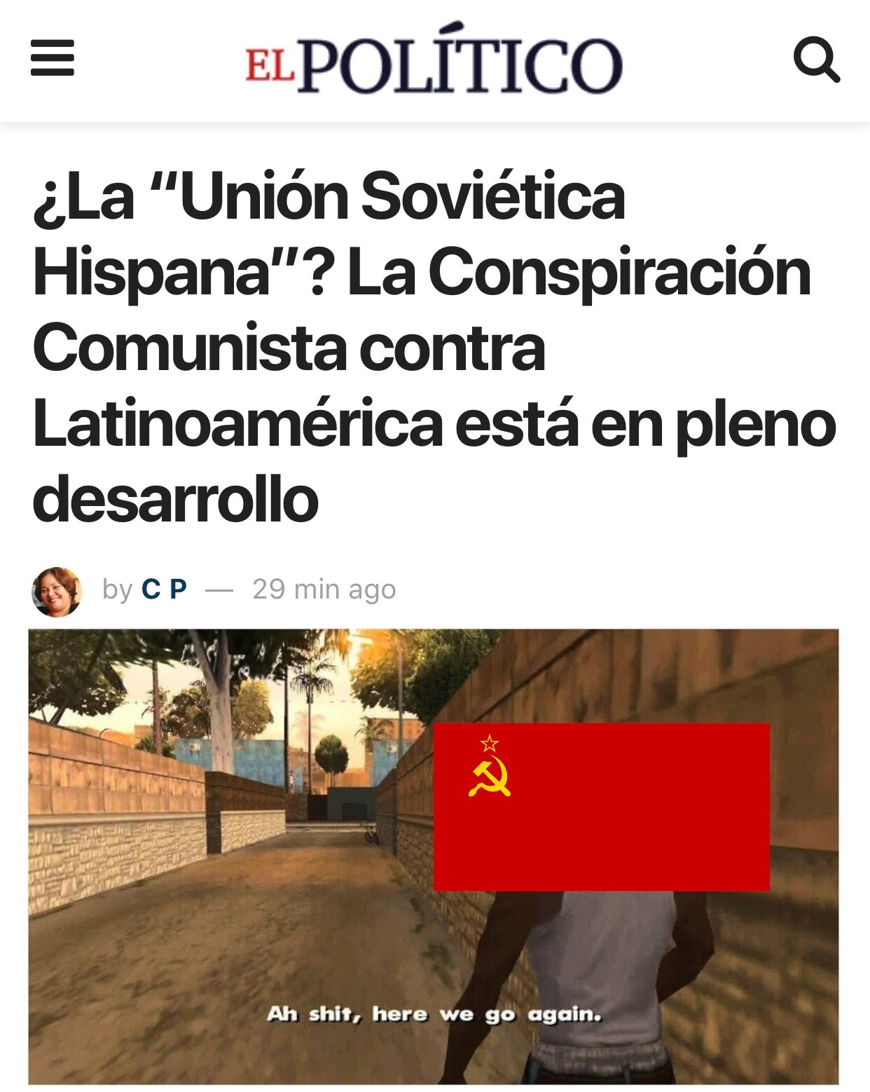 Unión Soviética Latinoaméricana - meme