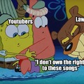 I don't care about YouTube copyright