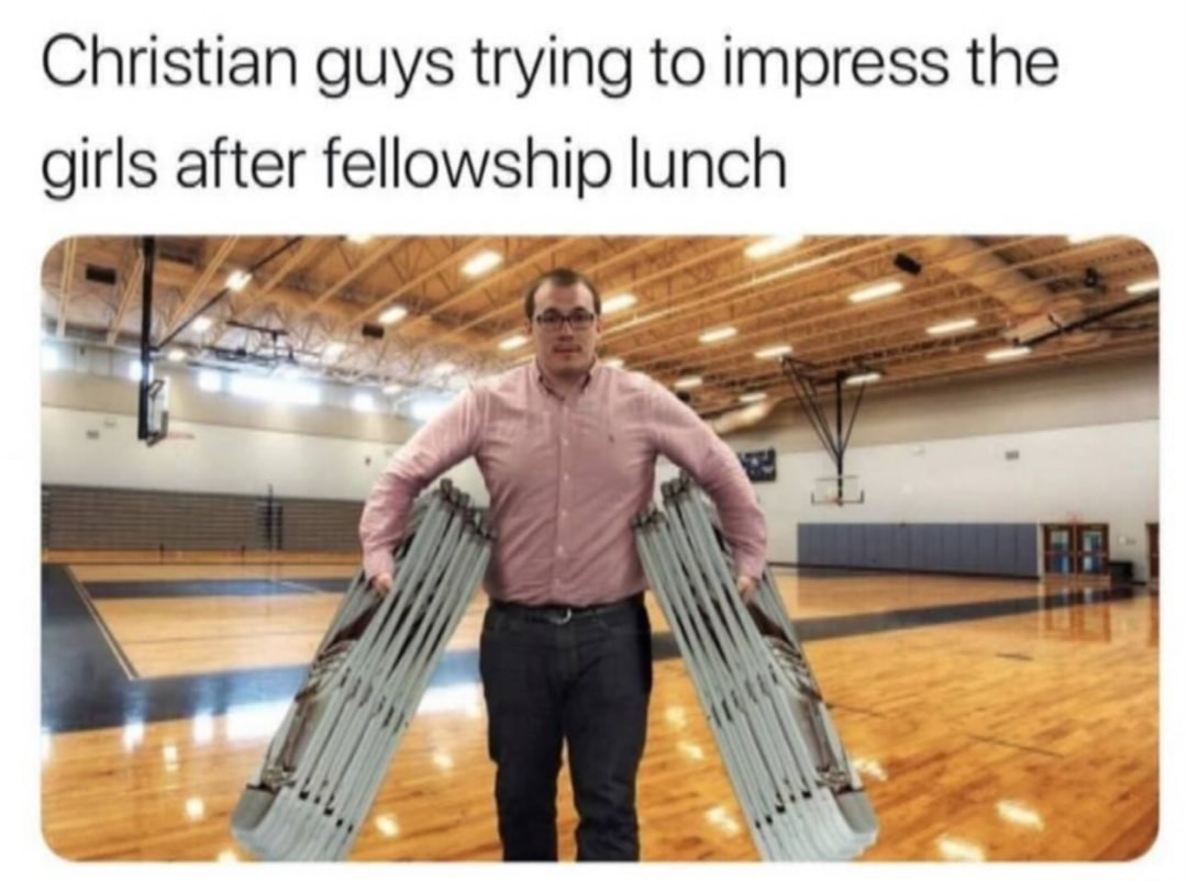 Alpha Male. How many chairs can you hold at a time? - meme