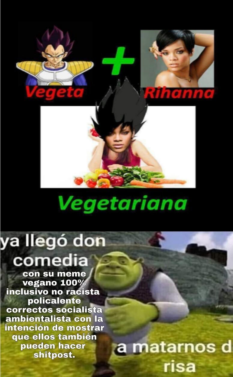De echo si lo subió un vegano -__- - meme