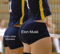 Elon Musk has bigger brain - meme