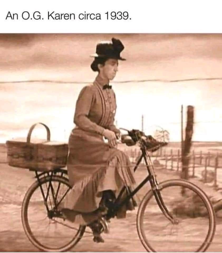 An O.G Karen - meme