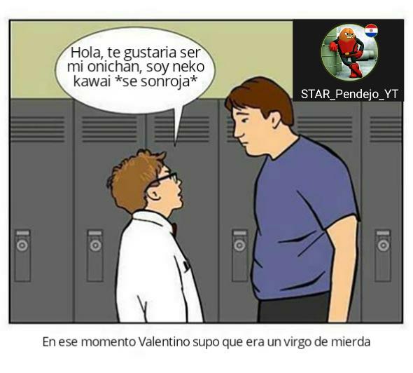 VALENTINO SOS ALTO PELOTUDO!! PORQUE HAY SEMEN EN TU ALMOHADA - meme