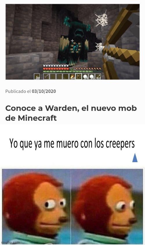 Me va a matar el warden ) : - meme