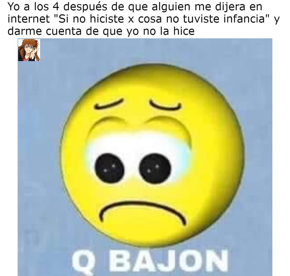 q bajon :okay: - meme