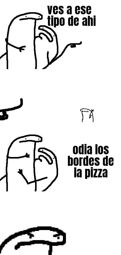 Odio a esa gemte - meme