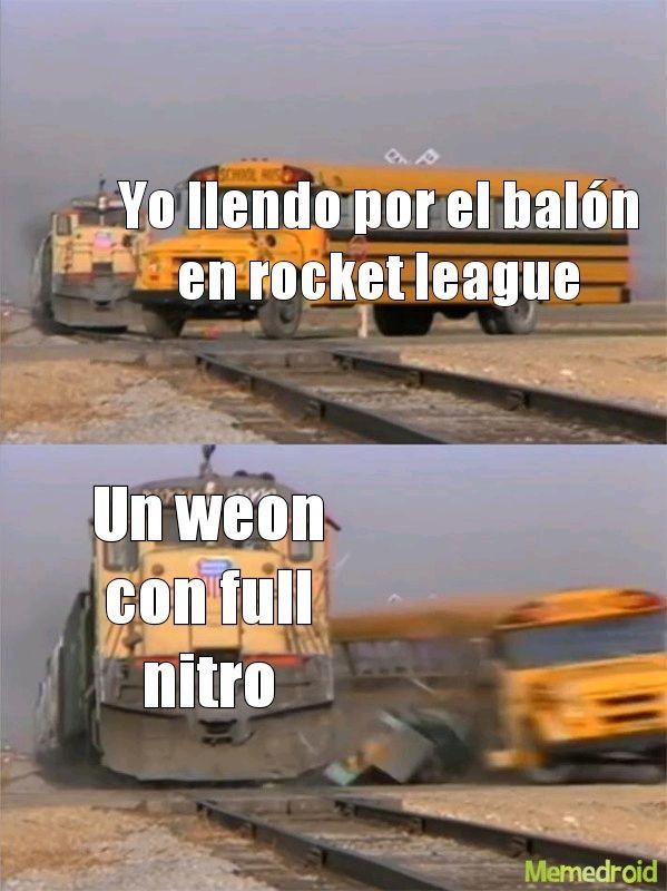 Rocket league true history - meme
