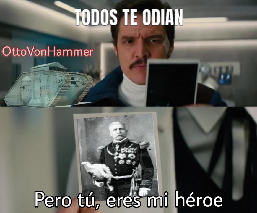Porfirio Díaz - meme
