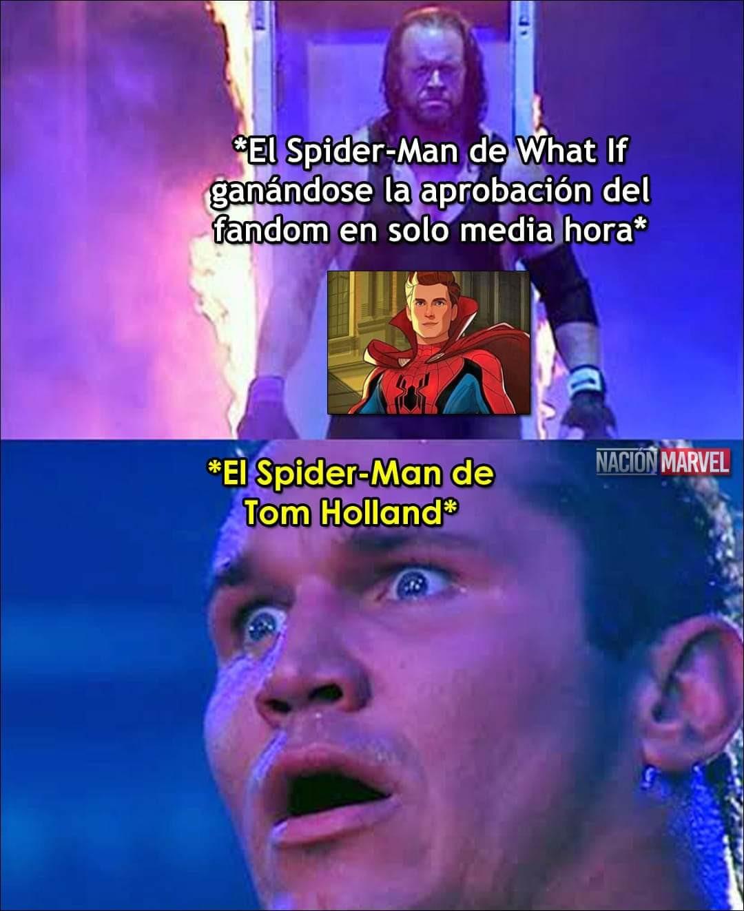 El spiderman de what if le da 10983829383 vueltas al de holland - meme