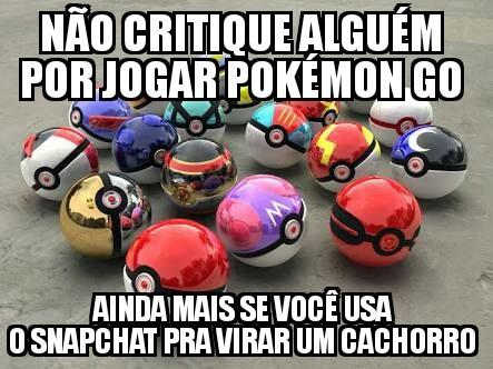 Pokémon go>>>>redes sociais - meme