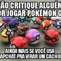 Pokémon go>>>>redes sociais