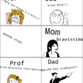 Studiare fa male a papá...cito il mio canarino WOOOOOOOOOOOOOOOOO