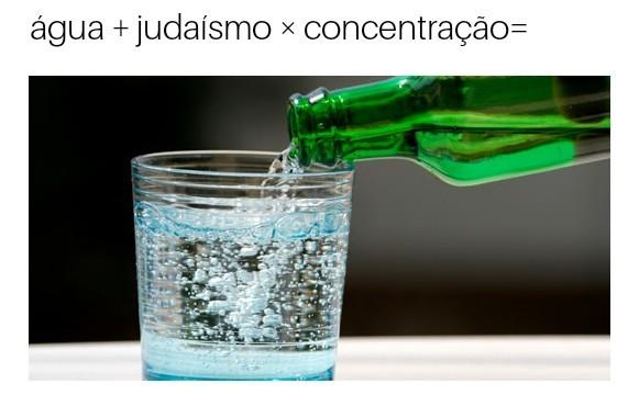 Água judaica concentrada....#pas - meme