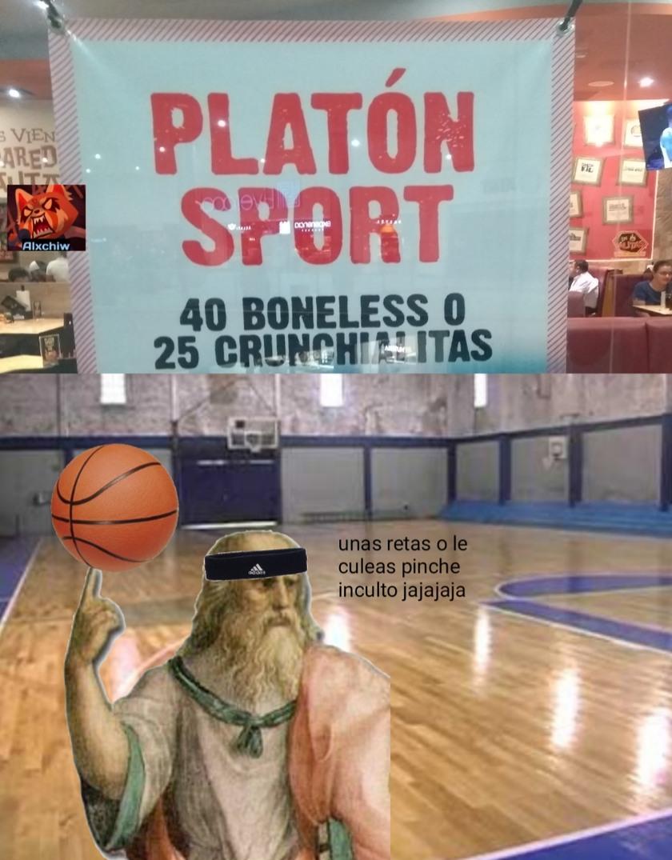 Platon= filósofo - meme
