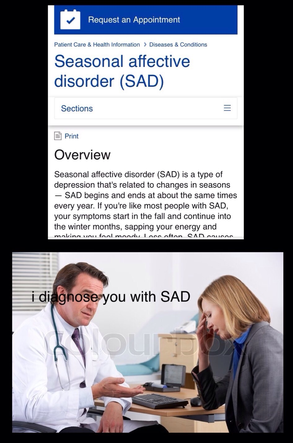 Big sad - meme