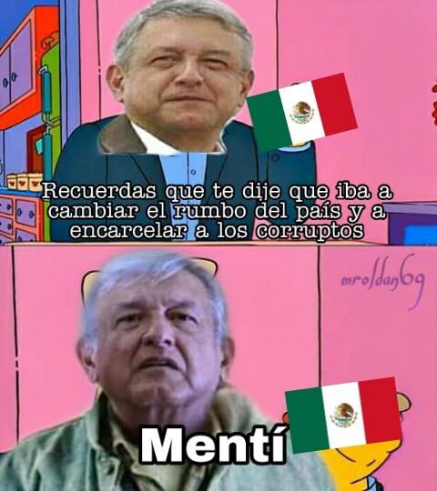 La mafia del Poder - meme