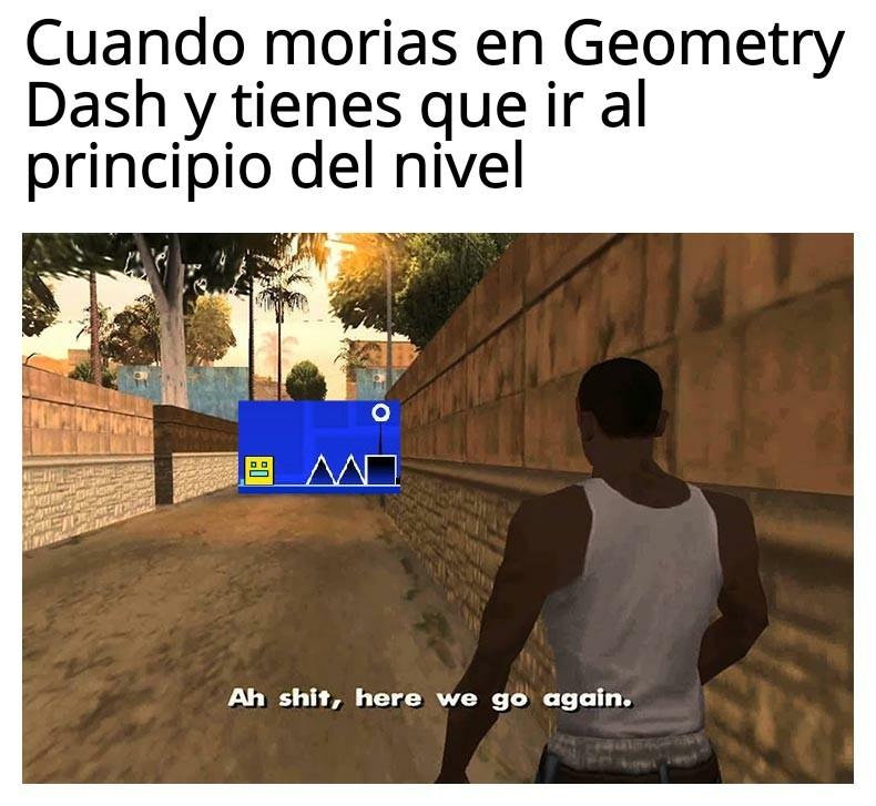 Meme de GD típico