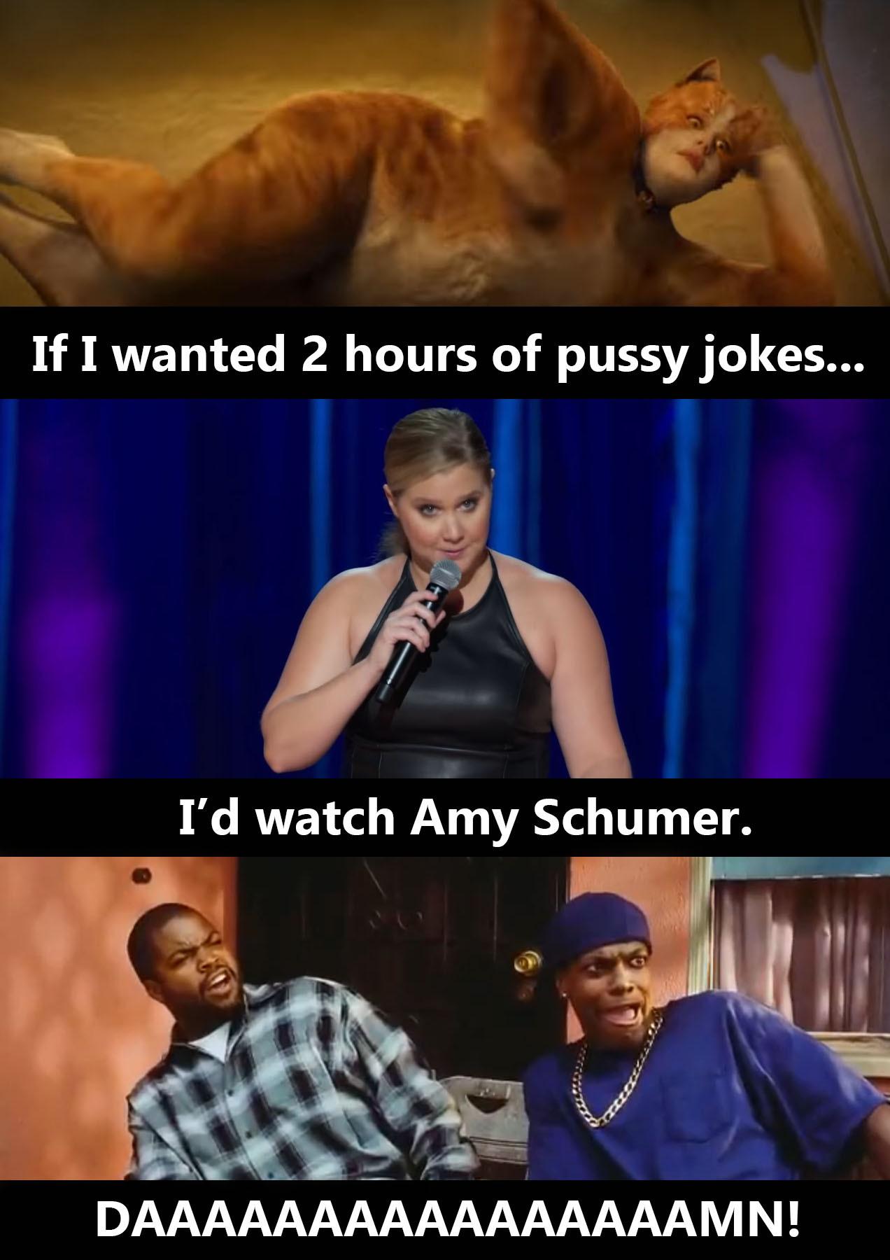 Pussy Jokes - meme