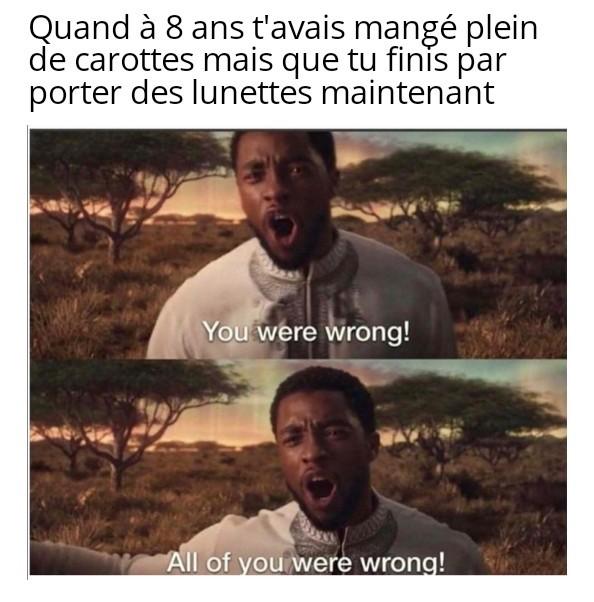 Mensonge! - meme