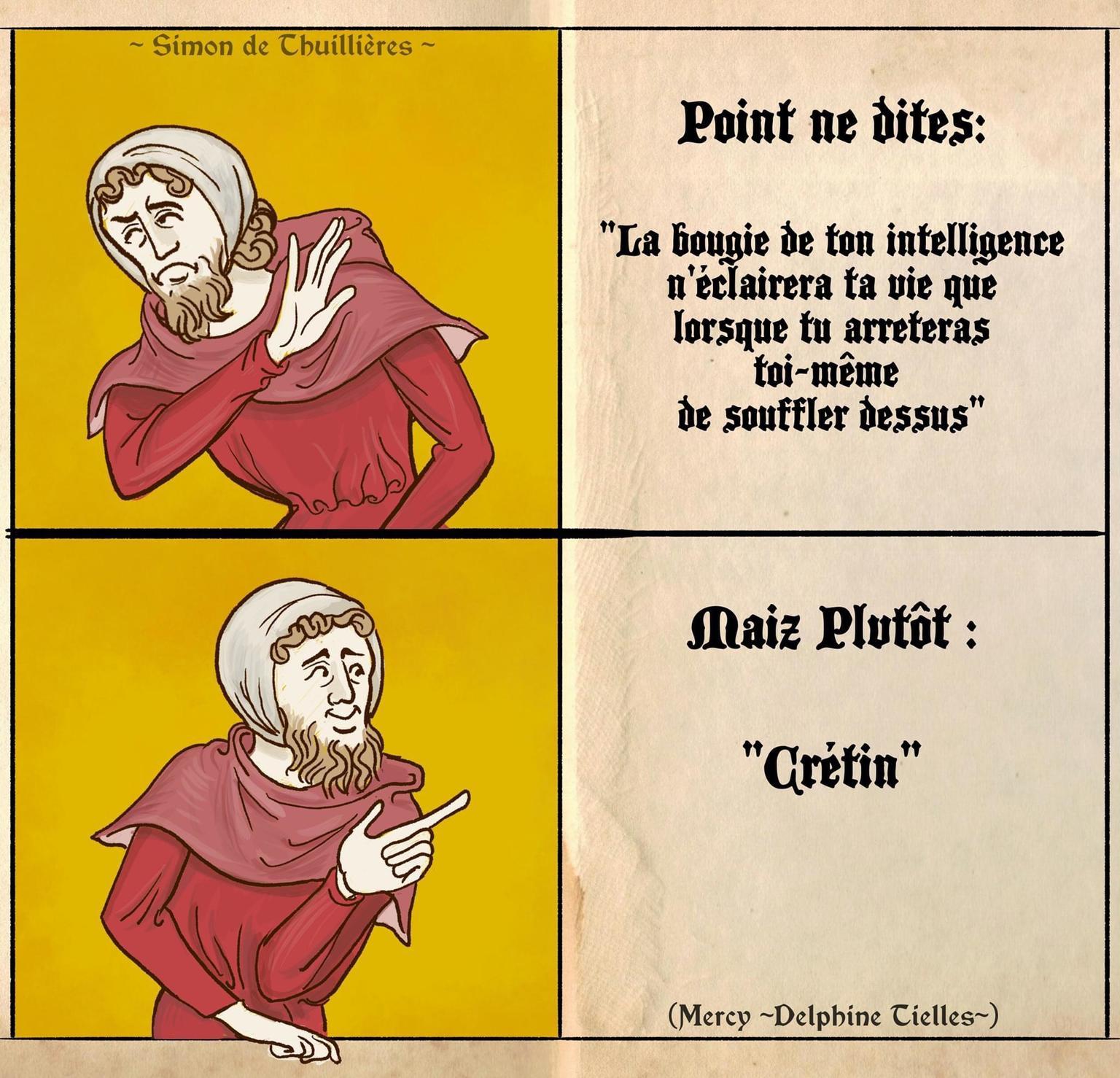 Cruche des bois - meme