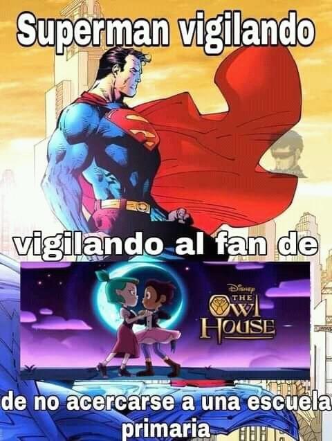 Vamos superman acaba con el - meme