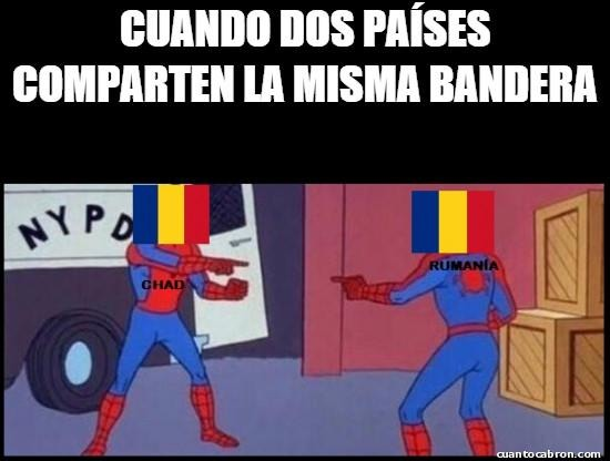 Rumania y chad - meme