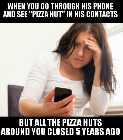 Pizza hut - meme