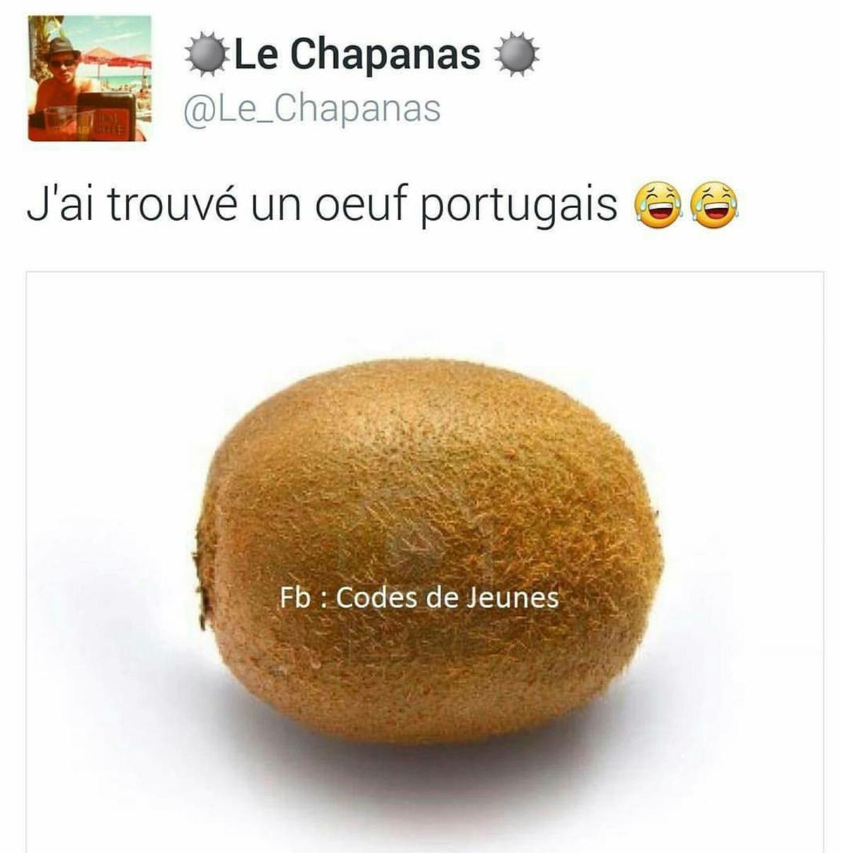 Les portugaiches - meme