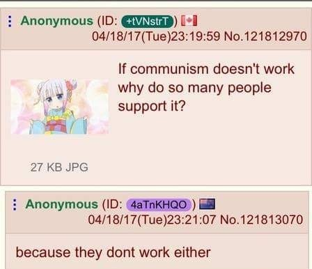 When you're Russian for communism, there is no time for Stalin - meme
