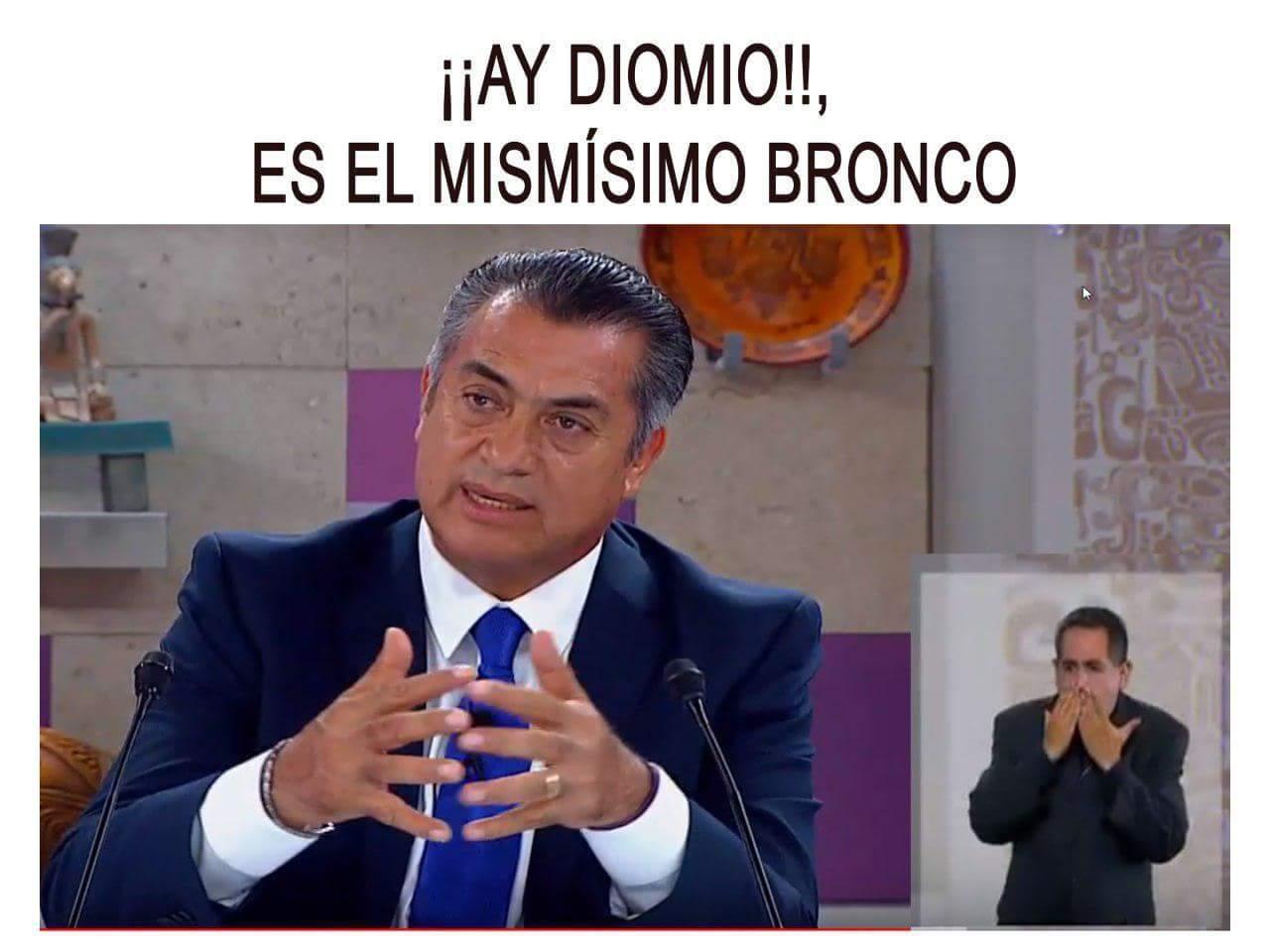#Bronco2018 - meme
