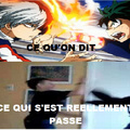 Quand on s'est battu et qu'on raconte à son pote.