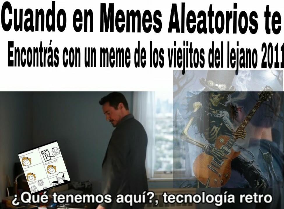La nostalgia dios mio :^) - meme