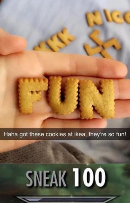 Mmmmh les biscuits - meme
