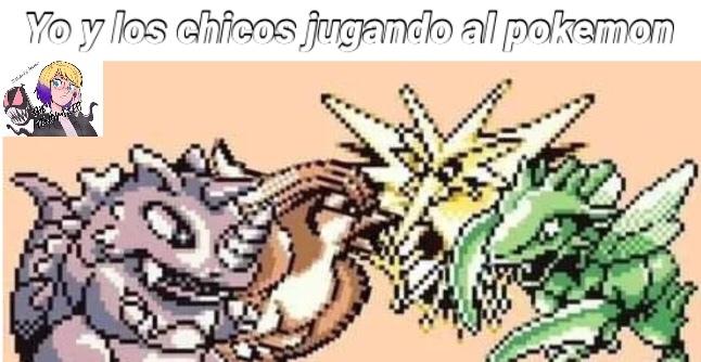 pokemon y los chicos - meme