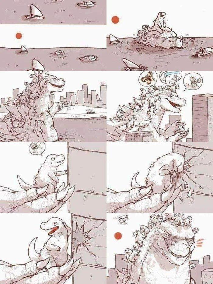 Wholesale Godzilla - meme
