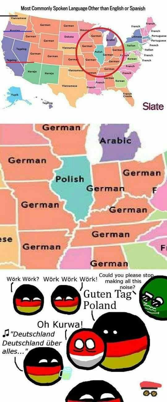 Son estados con inmigrantes - meme