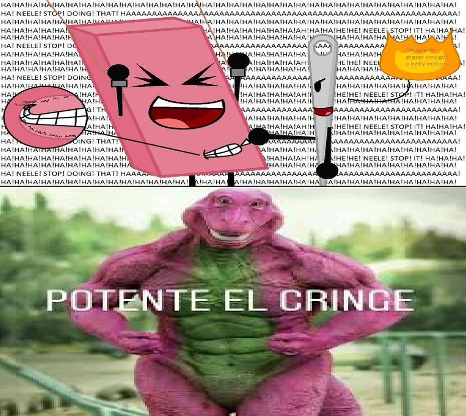 BFDI APESTA Y ESTA ES UNA DE LAS RAZONES - meme