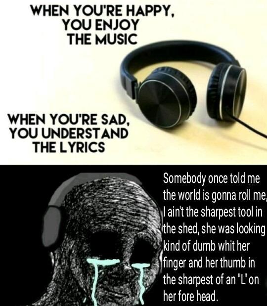 La canción del cherk - meme