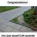 Wow good job!