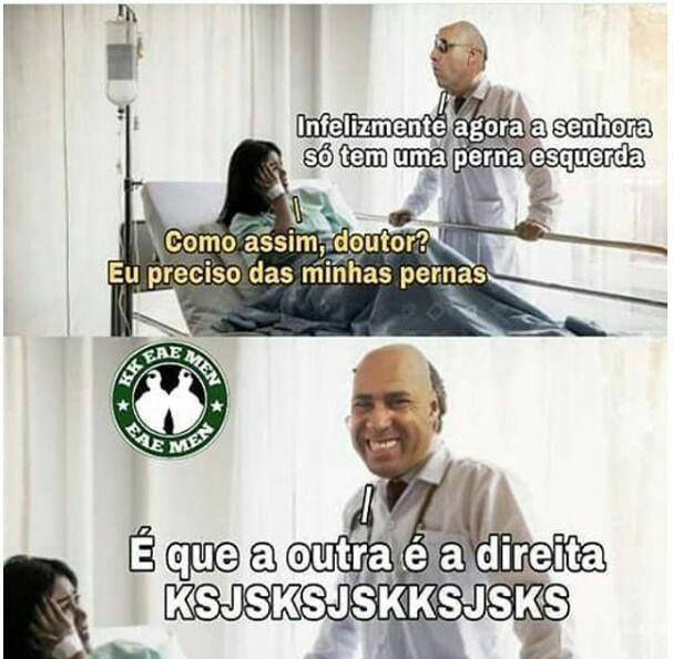 Nossa doutor - meme
