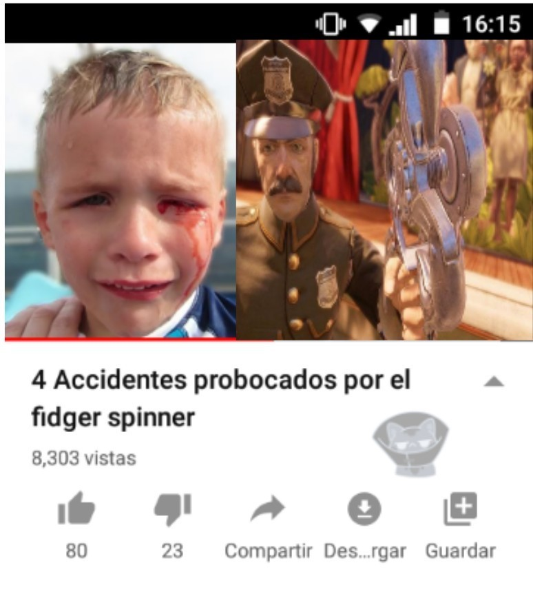 Los spinners son del diabolo - meme