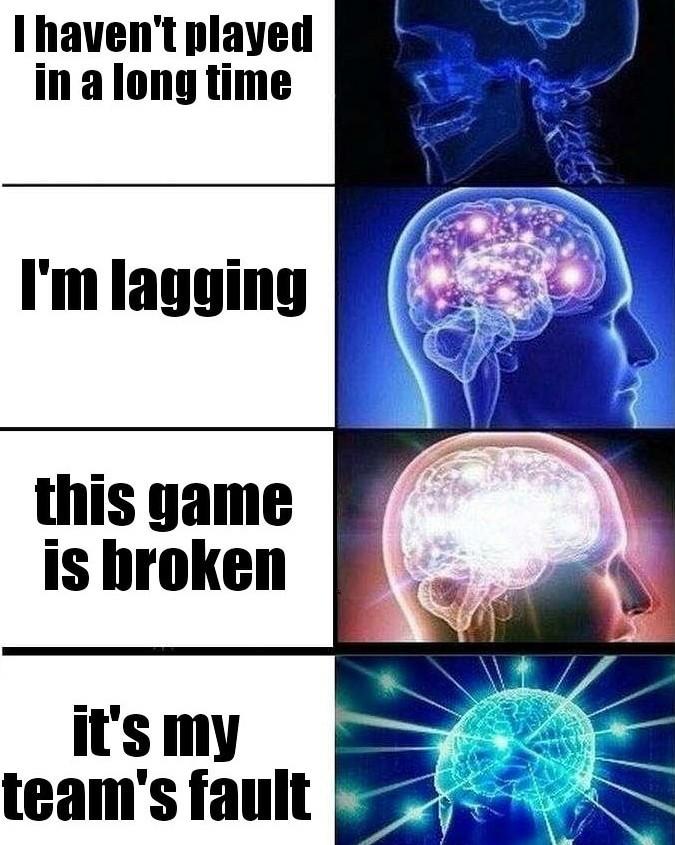 My favorite excuses. - meme